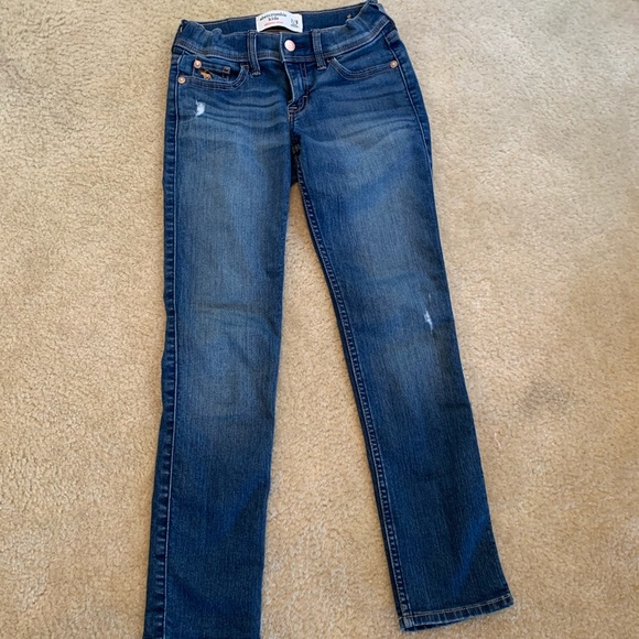 abercrombie kids Other - Girls Abercrombie skinny jeans 7/8- excellent